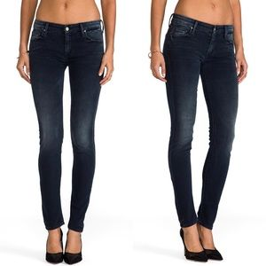 MOTHER Jeans The Looker Skinny in Grand Sophie